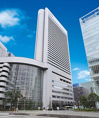 ヒルトンホテル大阪 外観